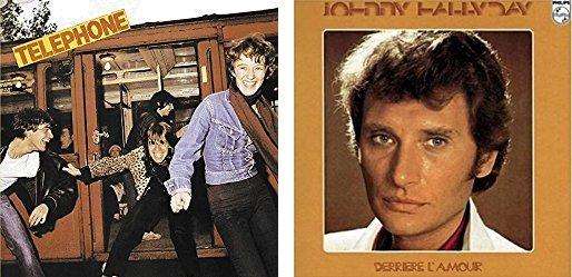 Sondage : Téléphone vs Johnny Hallyday