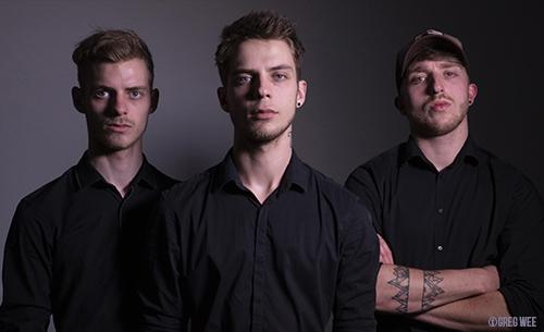 Trigones Plus, trio de gones rock lyonnais - Mazik