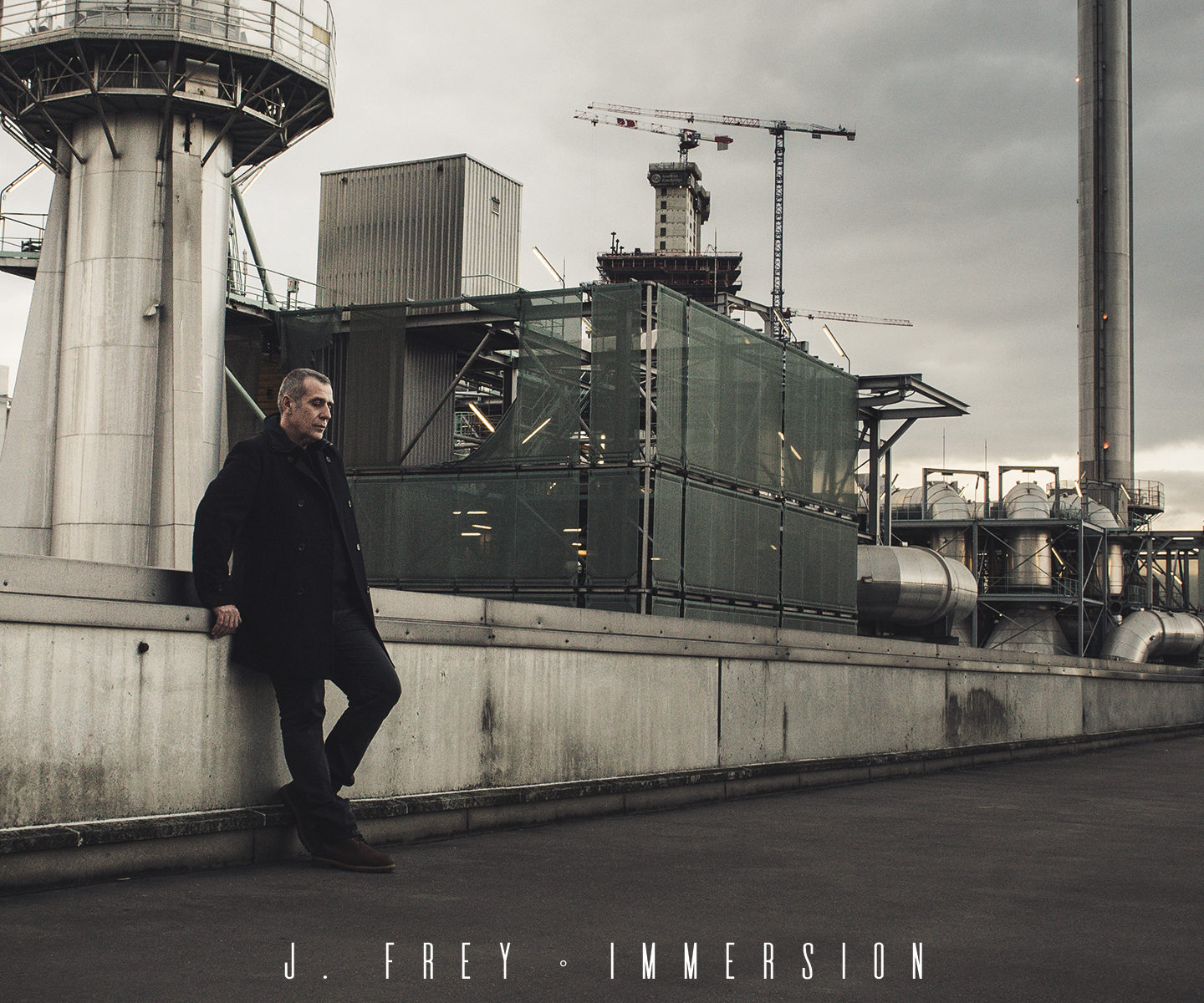 J. Frey impose sa voix sur le EP Immersion