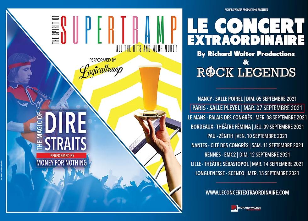 Supertramp et Dire Straits, tournée Rock Legends