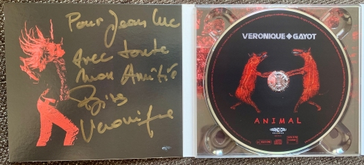Dédicace Véronique Gayot album Animal - Mazik