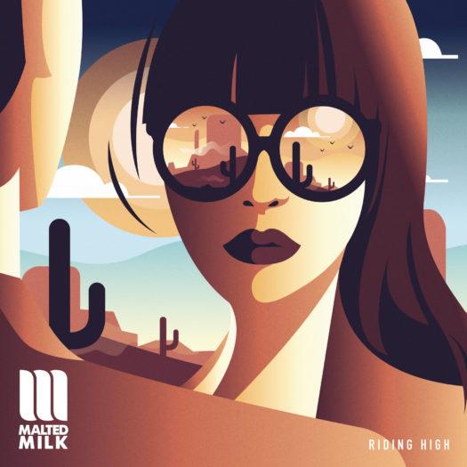 """Nouvel EP digital de Malted Milk """"Riding High"""" le 22 octobre 2021"""
